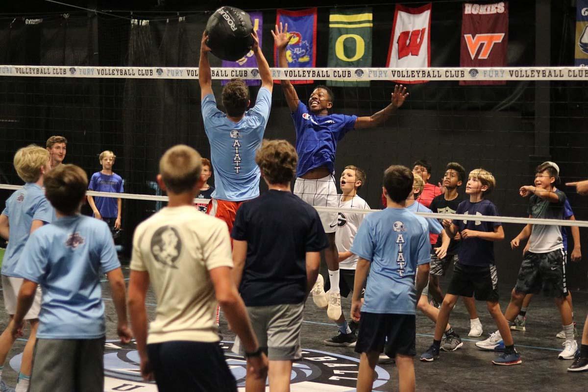 Volleyball performance training, Fury Performance Academy