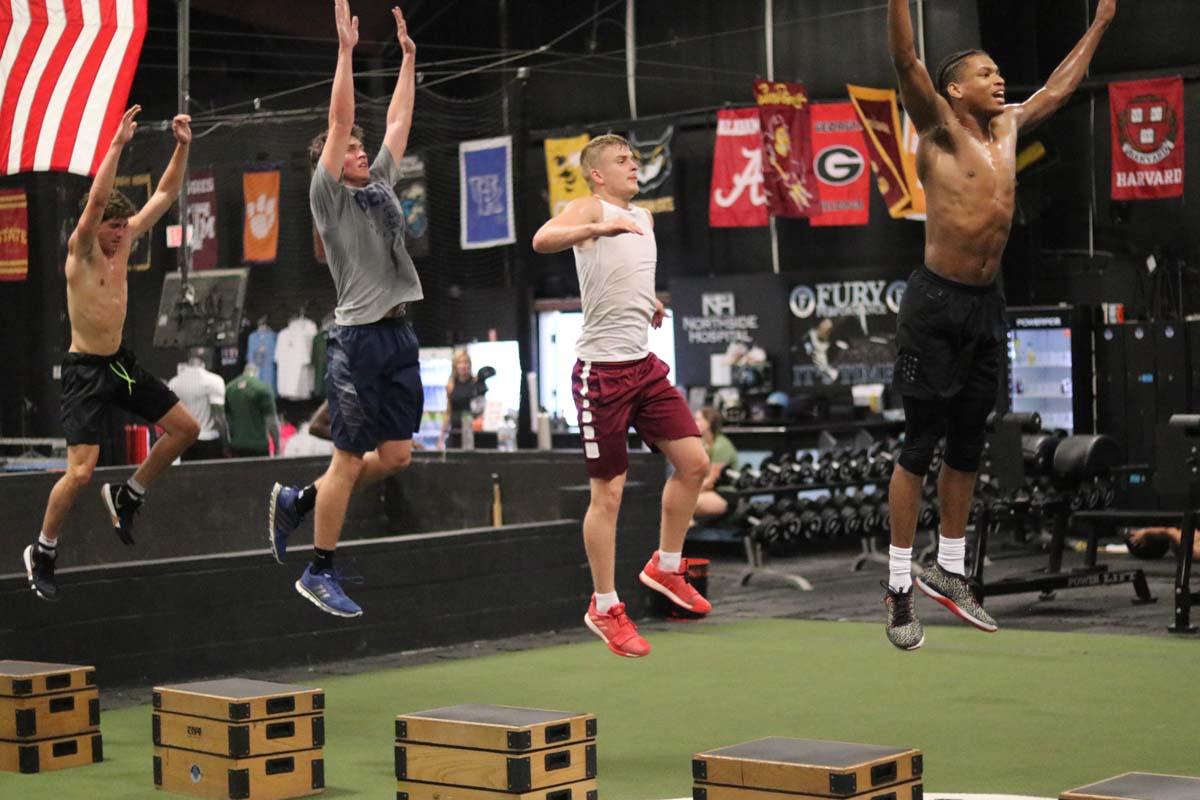 Basketballl training, Fury Performance Academy